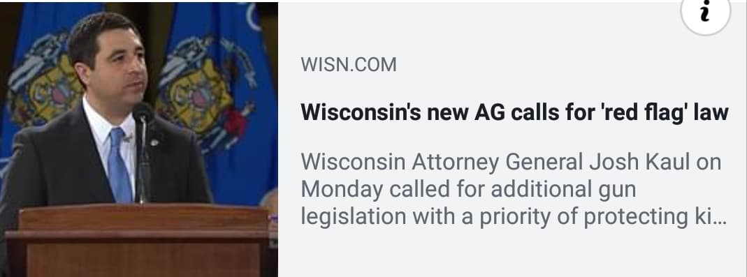 WI Attorney General DEMANDS Radical Gun Control!